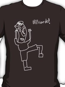 Billiards! (white) T-Shirt