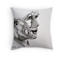 Inline Matt Smith Throw Pillow