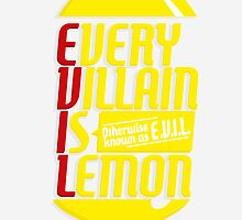 EVERY VILLIAN IS LEMON by oneskillwonder