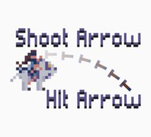 Shoot Arrow Hit Arrow (Mirana) by Marlon Gilliam