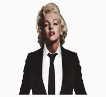 Marilyn Monroe Tuxedo by marouanebnk