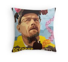 Respect the Chemistry  Throw Pillow