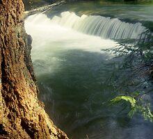 Whatcom creek waterfall in gentle sunlight soft focus lomography - Sussurri by visionitaliane