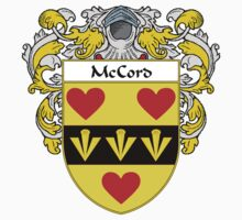 McCord Coat of Arms/Family Crest Kids Clothes