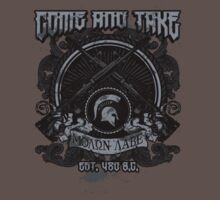 Molon Labe Come and Take by SmittyArt