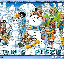 Merry Christmas by ONE PIECE by Magellan