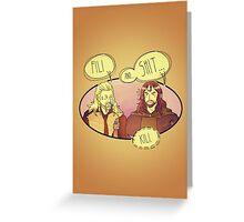 Fili and.... Greeting Card