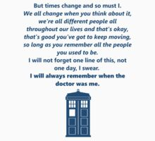 The 11th Doctor's Final Speech by Thomas Pickup