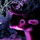 Purple Reindeer by Billlee