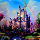 Disney Enchanted Palace Poster by lucylovett4