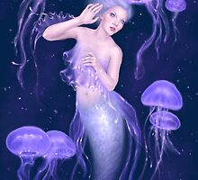 Bioluminescence Mermaid by Rachel Anderson