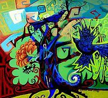 Gargoyle Crows by Genevieve Esson