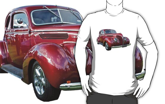 Red 1938 Ford Coupe by Ferenghi