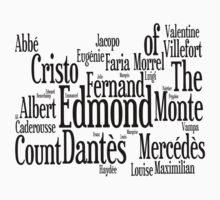 Characters of The Count of Monte Cristo by MerrillTheMage
