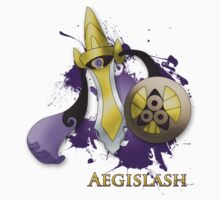 Aegislash Blade Forme With Name by TokenOfHoN