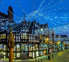 Chester Christmas Lights by George Standen