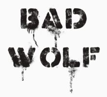 Bad wolf (Light background) by escadara