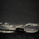 Old pier by PaperPlanet