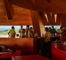 Degustazione di vini, Cantina della Tenuta Castelbuono, Umbria, Italy by Andrew Jones