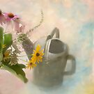 Watering Can by Marilyn Cornwell