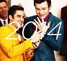 Klaine 2014 Calendar by zarayow