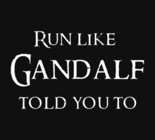 Run like a Hobbit by kayllisti