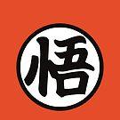 Goku's Kanji Symbol by Alex Papanicola