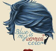 blue is my warmest color by SashaCaro