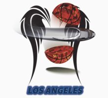 Los Angeles Collector's t-shirt & stickers by nhk999