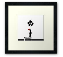 Paramore/Banksy Framed Print