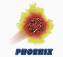 Phoenix Premium T-Shirts and Stickers by nhk999