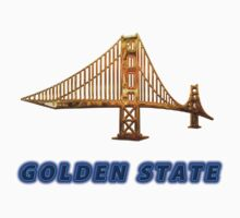 Golden State Collector's T-shirts and Stickers by nhk999