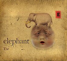 E is for Elephant by Danielzuber