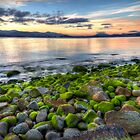 Luminous Rocks - Droughty Point, Tasmania by clickedbynic