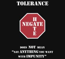 "Tolerance Does Not Mean ""Say Anything You Want with Impunity"" by Samuel Sheats"