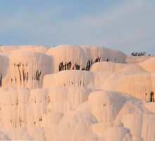 Pamukkale hot springs by Jim Hellier