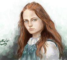Sansa Stark by Noémi Pap