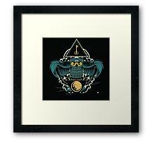 Owl Key Framed Print