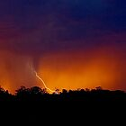 Electrical Sunset by kurrawinya