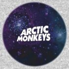 Arctic Monkeys Galaxy T-Shirt by alicelaura