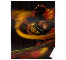 colorful dancing - baile coloroso Poster