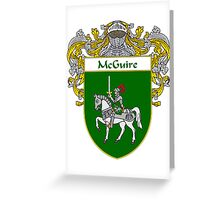 McGuire Coat of Arms/Family Crest Greeting Card
