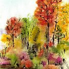 Fall Doodle by Anneke