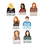 Doctor Who | Companions (alternate version) by CLMdesign