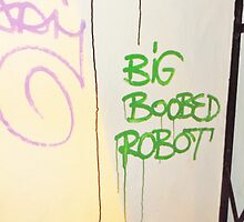 Big Boobed Robot. by Vincent J. Newman