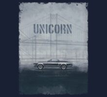 Ford Mustang Eleanor Unicorn Movie Inspired Muscle Car T-Shirt