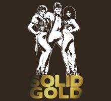 Solid Gold (Design #1 - Light) T-Shirt