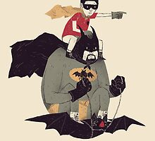 to the batmobile by louros