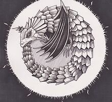 The Sun is the Dragon's Egg by Esther Green