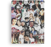 One Direction Collage Canvas Print